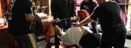 Scott Mendelson 317.5kg (700lbs) Raw Bench Press
