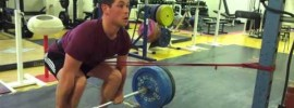 Deadlift with Band On the Hip