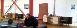 Jirka Orsag 201kg Power Clean & Jerk