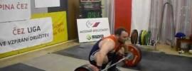 Jirka Orsag 190kg Snatch 235kg C&J in Czech League