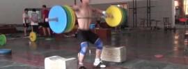 Yang Fan 160kg Snatch High Pull