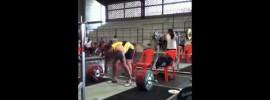 Fernando Reis 190kg Power Clean + Push Press