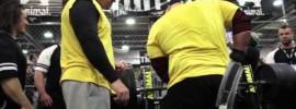 Eric Spoto 317.5kg Animal Cage Bench Press