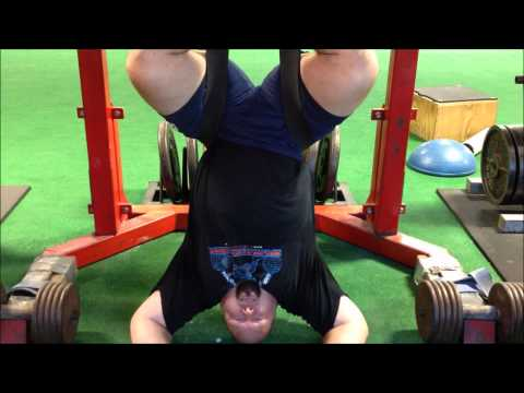 Spinal decompression with rubber bands all things gym