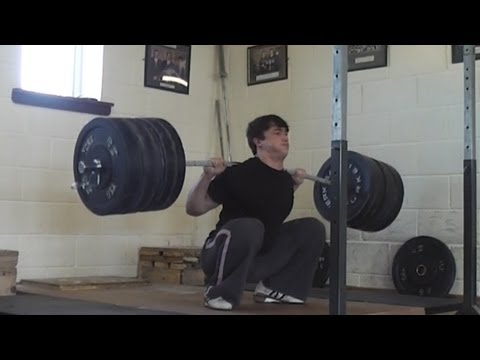 Clarence Kennedy 231kg Squat X8 All Things Gym