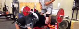 Eric Spoto 320kg Bench Press for 2 Singles