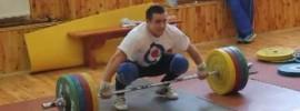 Yuri Chikida 170kg Snatch Double