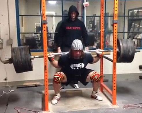 Dan Green 365.5kg Squat - All Things Gym