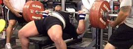 Eric Spoto 327.5kg (722lbs) Bench Press World Record