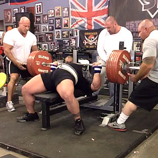 Eric Spoto 327 5kg 722lbs Bench Press World Record All
