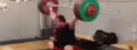 Fernando Reis 175kg Snatch