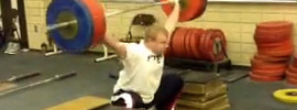 Jared Fleming 160kg Snatch Double and 170kg Snatch