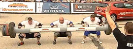 Triple Log Lift World Record