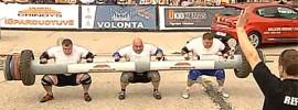 Triple Log Lift World Record