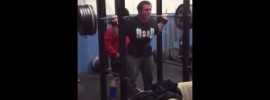 Kade Weber 272kg Squat x8
