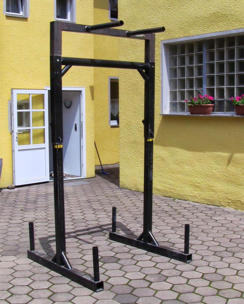DIY Yoke Squat Stand Full