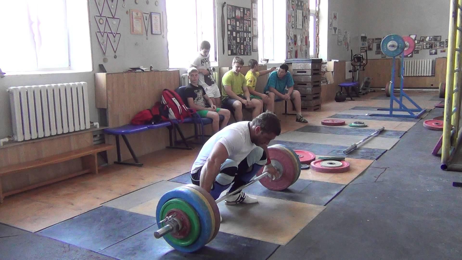 Dmitry Klokov 170kg Snatch Deadlift, Pause, Snatch Complex ...