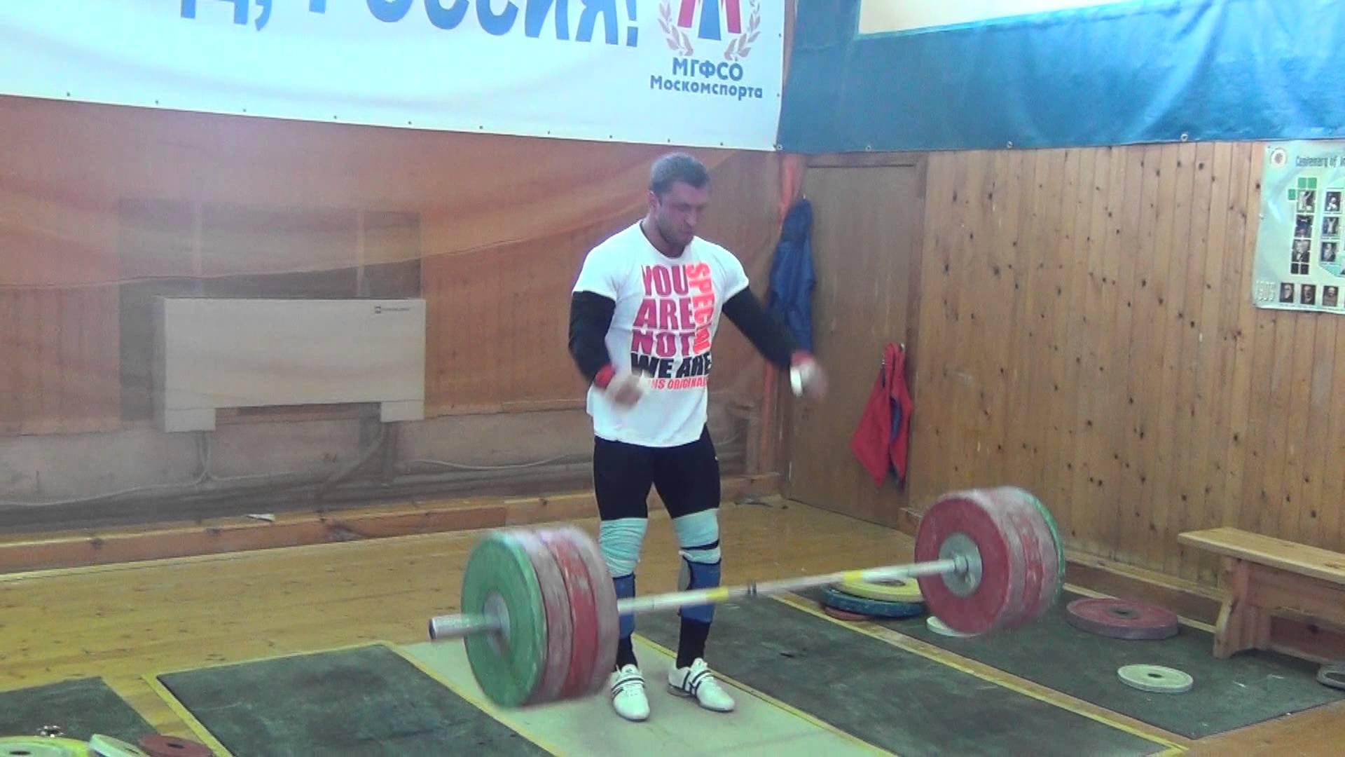 Dmitry Klokov 190kg Snatch - All Things Gym