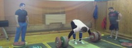 Dmitry Klokov 4+1 Snatch Grip Deadlift + Snatch