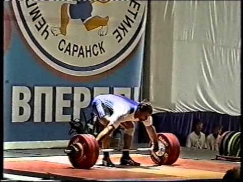 Dmitry Klokov, Dmitry Lapikov, Igor Lukanin at 2007 ...