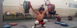 Rasoul Taghian 170kg Snatch