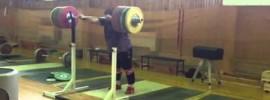 Chingiz Mogushkov 295kg Front Squat