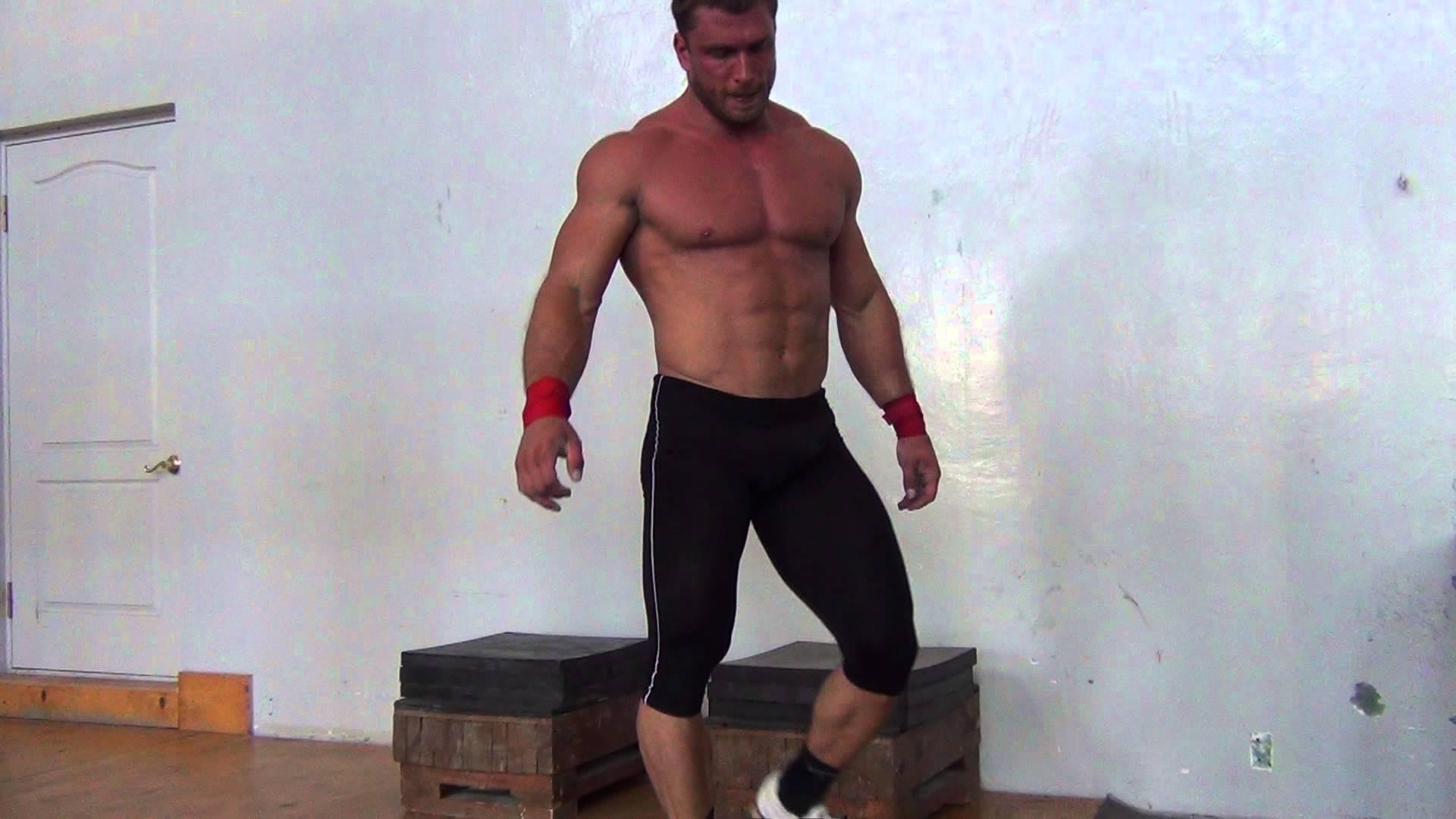 Dmitry Klokov Handstand Push Ups - All Things Gym