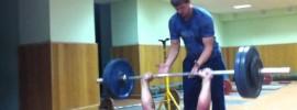 Mikhail Koklyaev 120kg Barbell Sit Up