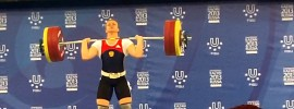 Olga Zubova 120kg Snatch + 159kg Clean & Jerk