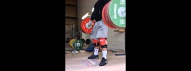 Vasiliy Polovnikov 190kg Hang Snatch