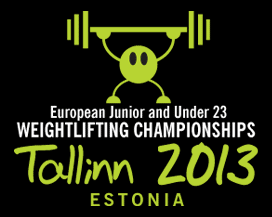 2013 European Junior U23 Weightlifting Championships Logo