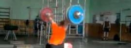 Gennady Muratov 190kg x2 Hang Snatch 230kg Front Squat + Jerk