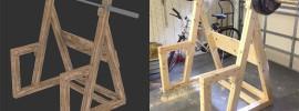 Wooden Squat Rack Plan Result