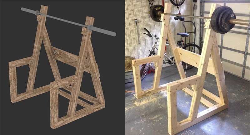 Woodwork Wooden Power Rack Plans PDF Plans