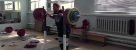 Dmitry klokov 220kg Paused Front Squat + Paused Jerk