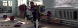 Dmitry klokov 220kg Paused Front Squat + Paused Jerk