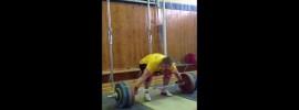 Gennady Muratov 200kg Snatch Pull + Snatch