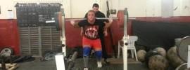 Graham Hicks 200kg Lunges