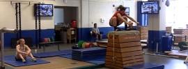 Jessica Marie Salvaggio Box Jump Circuit