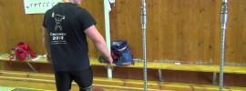 Dmitry Berestov Muscle Snatch + BTN Press + Overhead Squat