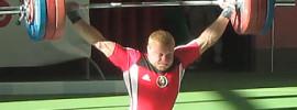 Andrei Rybakou 170kg Snatch 2013 Belarus Nationals
