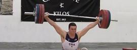 Ian Wilson 165kg Snatch at Caffeine and Kilos Weightlifting Invitational