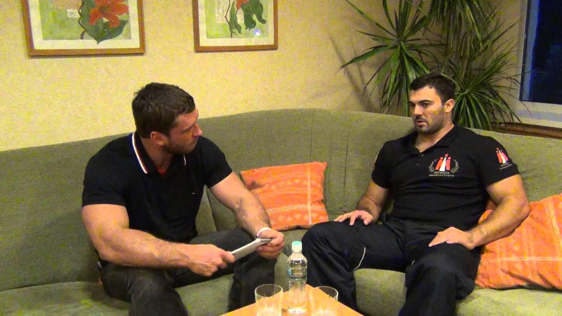 Dmitry Klokov Interviews Dmitry Berestov - All Things Gym