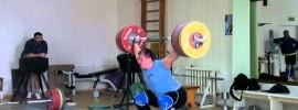 Dmitry Lapikov 210kg x2 Snatch