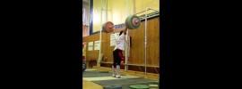 Evgeny Kolomiets 230kg Jerk