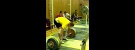 Gennady Muratov 240kg Clean