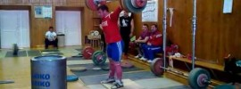 Ramazan Rasulov 190kg Snatch from Deficit