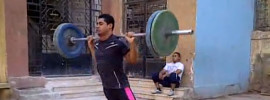 Weighted (Barbell) Broad Jumps