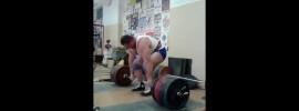 Alexander Klyushev 360kg x5 Deadlift