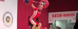 Andrei Rybakou 179kg Snatch at 2013 WorldsAndrei Rybakou